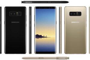 """""""Samsung Galaxy Note 8"""": ar patvirtins lūkesčius?"""