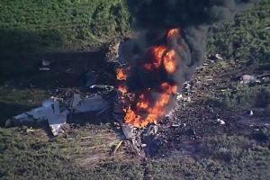 Misisipės valstijoje sudužo jūrų pėstininkų lėktuvas, žuvo 16 žmonių