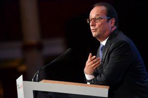 F. Hollande`o populiarumas Prancūzijoje –  mažesnis nei kada nors