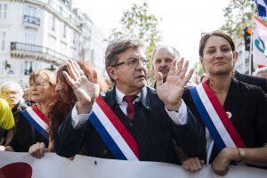 Prancūzijos kairiųjų lyderio pasisakymas apie nacius sukėlė pasipiktinimą