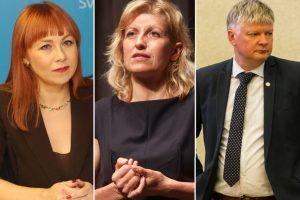 Aiškėja, kada atstatydintus ministrus pakeis nauji
