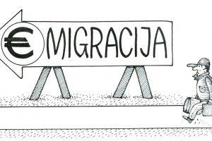 """Padidėjusios """"Sodros"""" įmokos paskatins emigraciją?"""