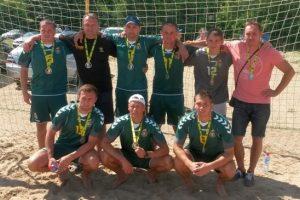 Lietuviai pasaulio paplūdimio čempionato atrankos turnyre nepatyrė pergalės džiaugsmo