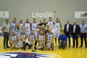 Dar viena Klaipėdos uosto krepšininkų pergalė