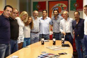 """""""Stumbras"""" vystys partnerystę su elitiniais Portugalijos futbolo klubais"""