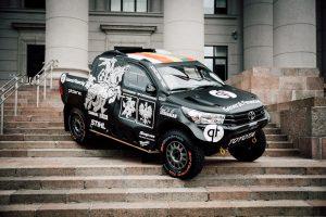 B. Vanagas pristato naują Dakaro automobilį