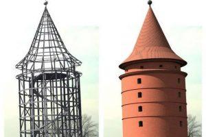 Apklausa dėl Klaipėdos pilies didžiojo bokšto atkūrimo