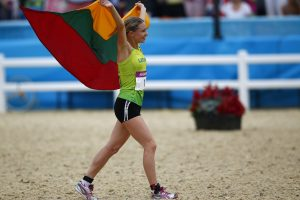 L. Asadauskaitė-Zadneprovskienė – pasaulio taurės etapo laimėtoja