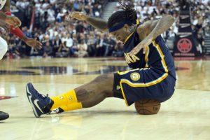 """Pirmoji """"Pacers"""" krepšininkų pergalė NBA sezone"""