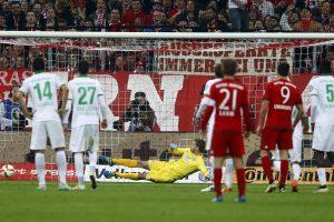 """Miuncheno """"Bayern"""" po metų pertraukos žais Vokietijos futbolo taurės finale"""