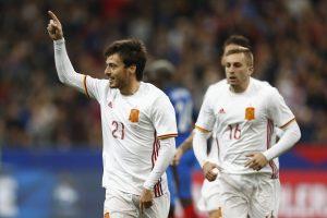Draugiškose rungtynėse prancūzai namie krito prieš Ispanijos rinktinę
