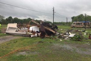 Luizianoje per tornadą žuvo du žmonės