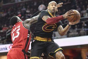 """""""Cavaliers"""" veteranas per tris minutes prarado daugiau nei pusę savo algos"""