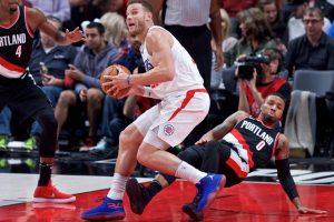 """NBA: B. Griffinas išgelbėjo """"Clippers"""" nuo pirmo pralaimėjimo"""