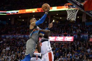 Puikiai pataikęs R. Westbrookas pasiekė savo sezono rezultatyvumo rekordą