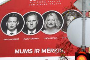 Latvijoje prasidėjo parlamento rinkimai