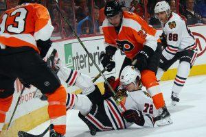 """Antrasis """"Blackhawks"""" pralaimėjimas NHL reguliariajame sezone"""