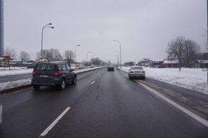 Minijos gatvėje sulaikytas girtas vairuotojas