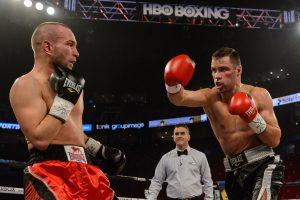 Profesionalų bokso ringe pergales skinantis V. Stapulionis kovos Lietuvoje