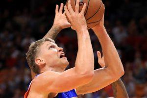 """M. Kuzminskas pelnė 8 taškus, tačiau """"Knicks"""" pralaimėjo"""