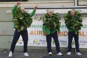 Olimpinė bronza parvežta į Klaipėdą