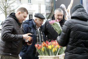 Uostamiestis pražydo tulpėmis