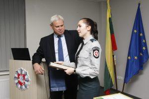 Policijos rėmėjams – padėkos
