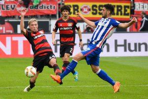 """""""Bayer"""" užsitikrino Vokietijos futbolo čempionato bronzą"""