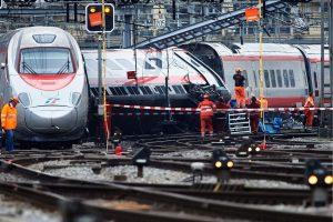 Rusijoje kaktomuša susidūrė du krovininiai traukiniai