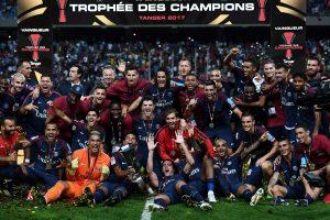 PSG penktus metus iš eilės laimėjo Prancūzijos Supertaurę