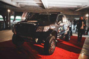B. Vanagas atsisveikina su 2018-ųjų Dakaro bolidu
