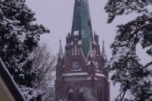Palangos bažnyčios bokštą netrukus praturtins apžvalgos aikštelė