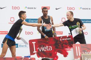 Vilniaus maratone triumfavo Etiopijos atstovas