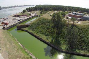 Kaip panaudoti Nerijos forto gynybinį griovį?