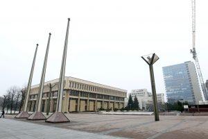 Seimo vadovybė buvusį fontaną norėtų paversti aikšte