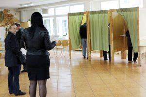 Telšių rajone iki vidurdienio balsavo 9,5 proc. rinkėjų