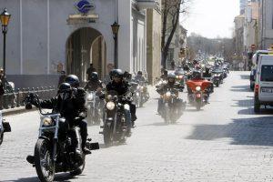 Motociklus vys iš Klaipėdos centro?