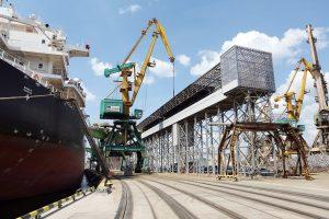 Klaipėdos uosto krova sausį beveik nepakito