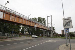 Klaipėdoje gali būti uždarytas pėsčiųjų tiltas per geležinkelį
