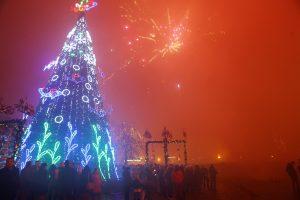 Miestas Kalėdas pasitiks šviesesnis