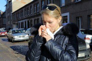Gripas kamuoja vis mažiau gyventojų