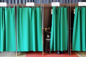 Įsigaliojo agitacijos draudimas rinkimuose