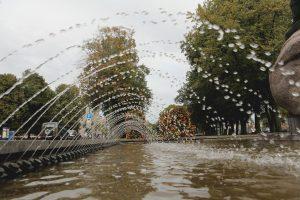 Fontanai klaipėdiečius džiugino ilgiau