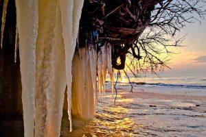 Į pajūrį artinasi šalčio banga