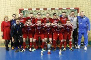 Studentai susigrąžino Klaipėdos salės futbolo čempionų karūną