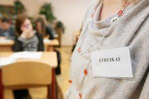 Pedagogų streikas slopsta ir Kaune