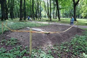 Į Skulptūrų parką grįš paminklas H. Gerlachui