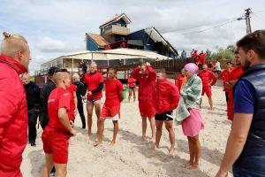 Po antrosios atrankos sėkmingai suformuota gelbėtojų komanda