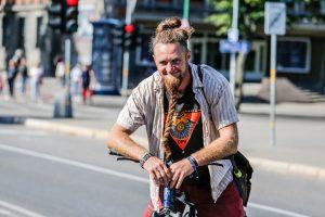 Pasaulį autostopu apkeliavusiam J. Ketleriui įdomiausia – pažinti žmones