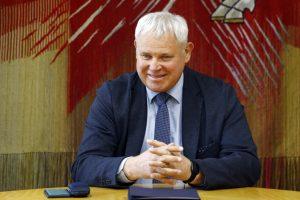 Mero posto vėl siekiantis V. Grubliauskas kandidatus pakvietė kovoti garbingai